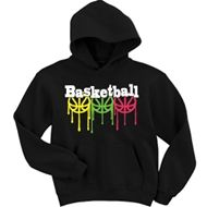 Image Sport - Basketball Hooded Sweatshirt-Basketball Drip