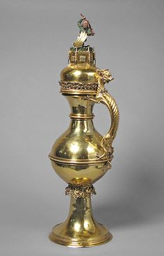 *Ewer. Date: late 15th century. Geography: Made in, probably Nuremberg, Germany. Culture: German. Medium: Silver gilt, enamel, and paint.