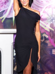 Chrisanne Fishtail Latin Dance Dress | Dancesport Fashion @ DanceShopper.com