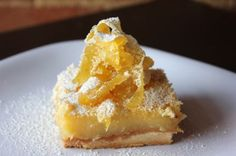 These Tart Lemon Squares are smooth, lemony, tart, and sweet all on top of a buttery shortbread crust! These Lemon Squares today! Lemon Desserts, Cookie Desserts, Delicious Desserts, Dessert Recipes, Yummy Food, Bar Recipes, Breakfast Dessert, Dessert Bars, Lemon Squares Recipe