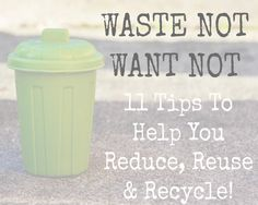 Reducing, Reusing and Recycling are such important habits to adopt. Reducing the amount of materials we buy & use, recycling our waste in the correct way and even reusing & upcycling products that can be used again, perhaps in a completely different way! Being green isn't time consuming, it's a way of life. It's involving these new habits in your everyday life, making a difference to the world we live in. It helps the environment & even saves you money. So I'm shar...