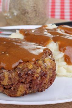The Very Best Salisbury Steak Recipe