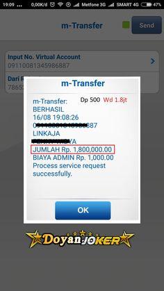 bermain di agen website doyanjoker.com dengan fast response proses deposit dan withdraw minimal 20rb serta tersedia deposit pulsa tanpa potongan Slot Online, Website