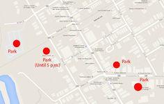 Where to park for the 2014 Taste of New Jersey Craft Beer and Wine Festival.