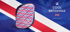 Tangle Teezer Compact Styler Cool Britannia.