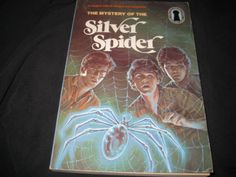 The Three Investigators Mystery of the Silver Spider #8 Robert Arthur Keyhole