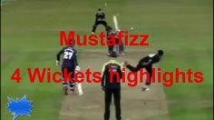 Mustafizur rahman 4 wickets highlights ! sussex vs essex