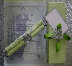 Ref Scroll Vows ( We can do any colour) www.weddingcards.co.za Wedding Cards Handmade, Green Wedding Invitations, Traditional Wedding, 30, Vows, Fancy, Colour, Prints, Color