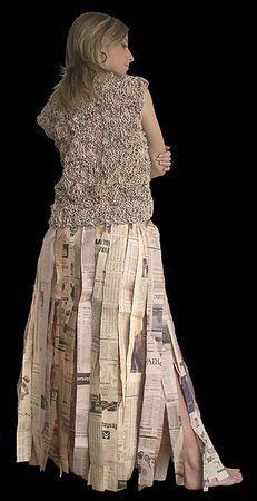 Le papier, ça se tricote - Les cahiers de Joséphine Paper Jewelry, Lace Skirt, Textiles, Victorian, Skirts, Dresses, Crafts, Fashion, Paper
