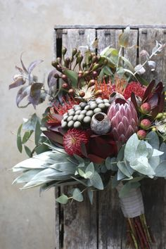 Swallows Nest Farm is part of Bush wedding - Protea Wedding, Bush Wedding, Floral Wedding, Wedding Bouquets, Rustic Wedding, Wedding Flowers, Wedding Groom, Bouquet Bride, Bridesmaid Bouquet
