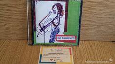 CURIOSO CD DE PRESENTACIÓN ( GRABADO ) DE LA CANTANTE Y HUMORISTA  - LA GOUDART-