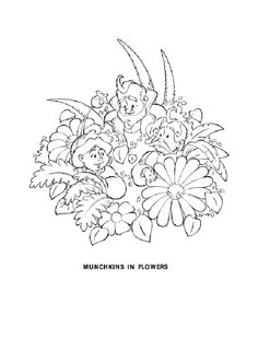 Wizard of Oz Coloring Pages.