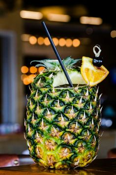 11 Tiki Cocktails Approved by the Polynesian Gods Cocktails, Drinks, Summertime, Pineapple, Fruit, Hot, Recipes, Craft Cocktails, Drinking
