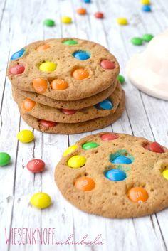 Cookies mit M&Ms.. nomnomnom..