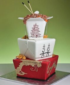chinese cake for unusual wedding cakes Unusual Wedding Cakes Ideas