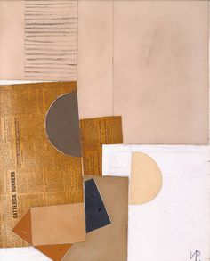 laflaneuse8:  Victor Pasmore, Abstract in White, Grey and Ochre, 1949      Victor Pasmore,Abstract in White, Grey and Ochre, 1949
