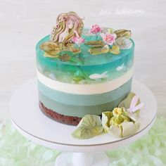 Julie Sarkharova is the most amazing baking artist I've ever seen - Backen - Pastel de Tortilla Pretty Cakes, Cute Cakes, Beautiful Cakes, Amazing Cakes, Food Cakes, Cupcake Cakes, Cake Boss Cakes, Wilton Cakes, Crazy Cakes