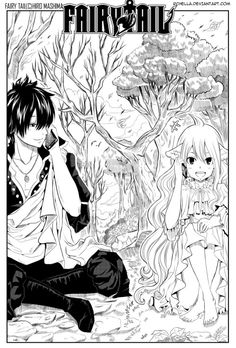 lol This is so cute! <3 Imagine Zeref and Mavis talking on cell phones to one another! LOL