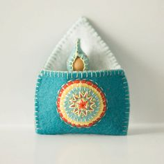 Waldorf Inspired Summer Baby Gnome with Pouch by TanglewoodLane, $18.00