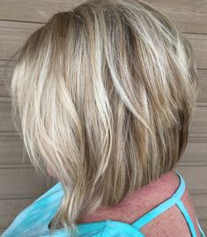Blunt Inverted Bob With Shaggy Layers