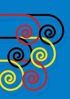 Cores em Copeticao by Guto Lacaz  ~  Official Rio Olympics Poster for the 2016 Summer Games