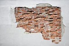 How to Create Faux Exposed Brick Wall Using Venetian Plaster & Stone Veneer thumbnail