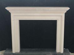 ELEGANT LIMESTONE ESTATE MODERN DESIGN FIREPLACE MANTEL - CLFP1 #Unbranded Marble Fireplace Mantel, Marble Fireplaces, Fireplace Mantels, Modern Design, Elegant, Beautiful, Home Decor, Classy, Decoration Home