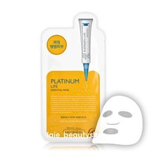 10Pcs MediHeal Platinum Life Essential Mask Pack Sheets Korean Moist Face Pack #Mediheal