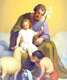 Saint Joseph with the Child Jesus and St. John the Baptist