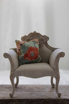 Chair by Abi Monroe of Taylor Couture, via Flickr
