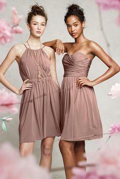 creamy mallow dress