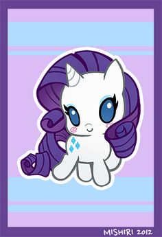 I am actually a Rarity fan! So I made sure she turned out the best! *sidenote* I had little charms made of her, but shes all sold ou. Dessin My Little Pony, My Little Pony Rarity, Hasbro My Little Pony, My Little Pony Drawing, Mlp My Little Pony, My Little Pony Friendship, Rarity Pony, Friendship Games, Fluttershy