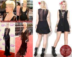 Shop the Trend: For Love & Lemons Lulu Dress in Polka Dot Black