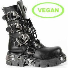 m391-vc1 New Rock Vegan Boots