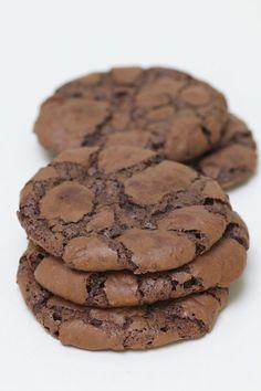 Kladdiga Nutella Cookies