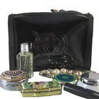 GUCCI Guilty Black Patent Cosmetic Small Make-Up Pouch Beauty Clutch Bag VIP