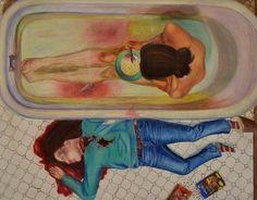 Mattison W. - Score 4 , Balance... Social issue; Student Portfolios 2013-14 - AP Studio Art - Lake Norman High School - Mrs. Fox