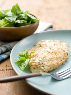 Broiled Tilapia with Parmesan