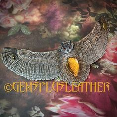 Welcome to see more pictures of this #handmade #eagleowl #bracelet in my #etsyshop #Gemsplusleather 😉 Just remember that ordering outside #Etsy is cheaper thus rather contact me directly 🙃 #Gemsforall #cuff #handmade #owl #bird #leather #tooledleather #leathercraft #Leatherwork #artisan #labradorite #artisanjewelry #leatherjewelry #instajewelry #jewelrygram #gemstonejewelry #Handpainted #giftforher #lavkacraft #instagood #instamood #instadailyphoto #instadaily Leather Ring, Tooled Leather, Leather Cuffs, Leather Tooling, Leather Jewelry, Owl Bracelet, Bracelets, Leather Gifts For Her, Painting Leather