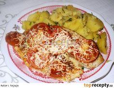 Zapečená treska Cauliflower, French Toast, Fish, Chicken, Vegetables, Breakfast, Recipes, Cooking, Morning Coffee