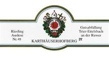 "GrapePip Auction: 2005 Eitelsbacher Karthäuserhofberg Riesling Auslese No. 28. Lot live in September 2015. Opening at £355 in bond per 6. ""scents and aromas of over-ripe honeydew melon, honey, and raspberry liqueur…almost like a honey and red berry syrup… subtle red berry tartness and hidden springs of fresh fruit acid…amazing elegance and lift…a candidate for three decades of cellaring.)"" David Schildknecht"