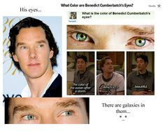 Benedict Cumbercatch's eyes are a universe unto themselves..