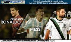 VIDEO | Carulli (Real Teate) e la sfida a Messi... il bello del calcio