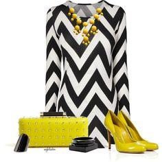 Chevron Dress :)