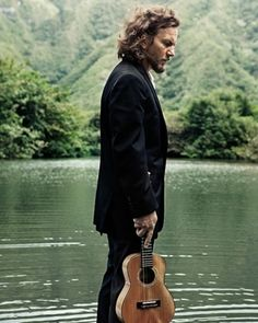 Eddie Vedder (of Pearl Jam)