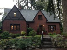 THE HOUSE!! Our 1929 Brick Tudor DREAM home. Can't wait to move in <3