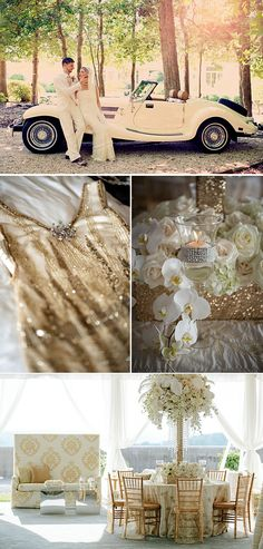 Inspiración para bodas años 20