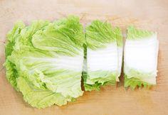 白菜の中心