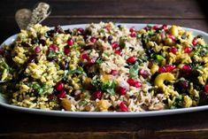 Ρύζι-Χριστουγεννιάτικες-Συνταγές Rice Recipes, Recipies, Cooking Recipes, Healthy Recipes, Pasta Salad, Cobb Salad, Crafts Beautiful, Potato Salad, Biscotti