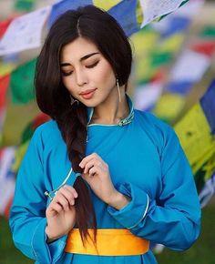Buryat Mongolian girl
